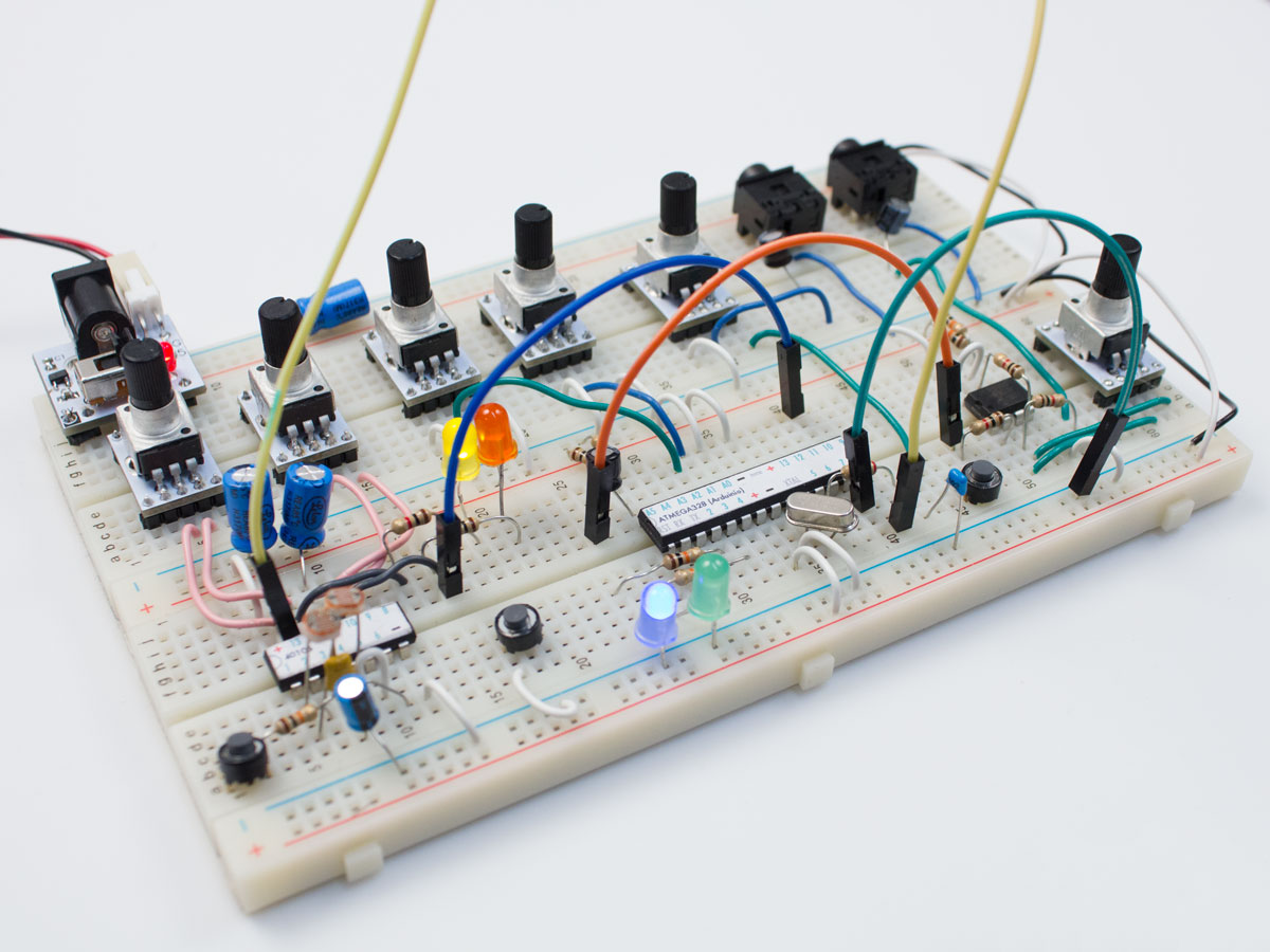 The Rad Fi System Bleep Labs Breadboards Electronics Images Glitch Delay 2